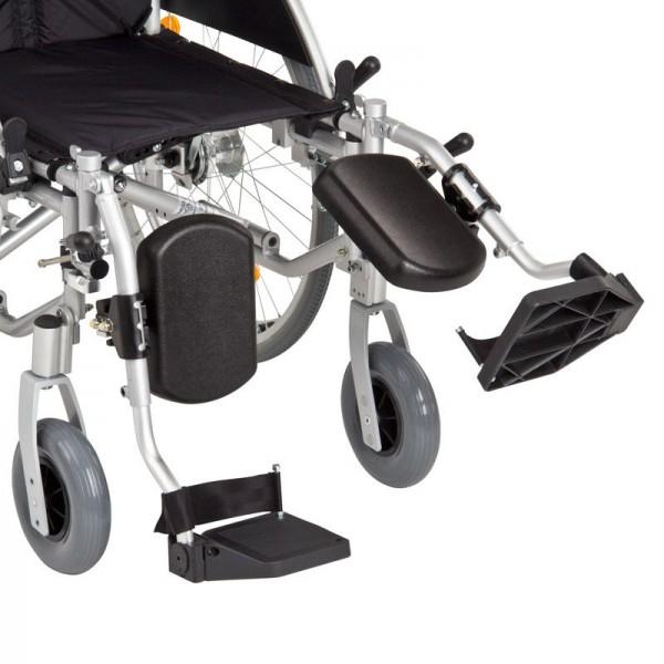 Verstellbare Beinstützen für Rollstuhl standard